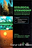 Ecological stewardship : a common reference for ecosystem management : 3 volume set