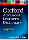 Oxford, advanced learner's dictionary