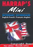 Harrap's mini. Dictionnaire Français-Anglais, Anglais-Français