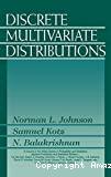 Discrete Multivariate Distributions
