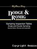 Sampling inspection tables