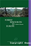 Forest resources in Europe, 1950-1990