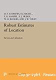 Robust Estimates of Location