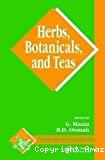 Herbs, botanicals and teas.