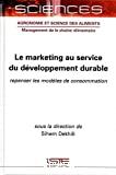 Le marketing au service du développement durable