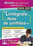 L'intégrale note de synthèse