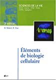 Eléments de biologie cellulaire