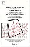 Les indicateurs de science pour les pays en développement