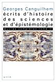 Écrits d'histoire des sciences et d'épistémologie