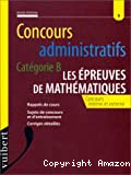 Concours administratifs, catégorie B : les épreuves de mathématiques