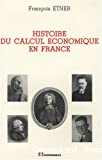 Histoire du calcul économique en France