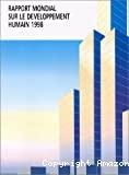 Rapport mondial sur le développement humain 1998