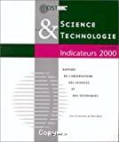 Science et technologie indicateurs. Edition 2000.