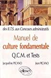 Manuel de culture fondamentale