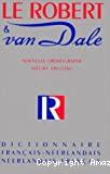 Dictionnaire Français-Néerlandais / Néerlandais-Français
