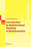 Introduction to mathematical methods in bioinformatics