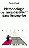 Méthodologie de l'investissement dans l'entreprise.