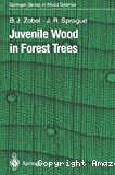 Juvenile wood in forest trees