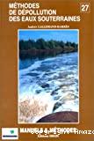 Méthodes de dépollution des eaux souterraines