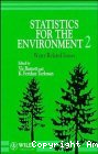 Statistics for the environment 2 : water related issues : proceedings of SPRUCE II, the second SPRUCE conference held in Rothamsted Experimental Station, Harpenden, UK, 13-16 september 1993