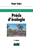 Précis d'écologie