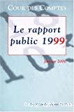 Le rapport public 1999