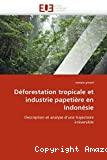 Déforestation tropicale et industrie papetière en Indonésie