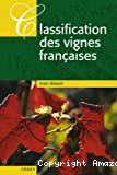 Classification des vignes françaises