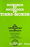 Economie et sociologie du Tiers-Monde