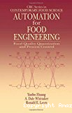 Automation for food engineering. Food quality quantization and process control.