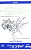 Reproductive ecology of tropical forest plants.