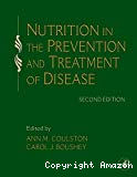 Nutrition in the prevention and treatment of disease.