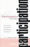 Participation, from tyranny to transformation ?
