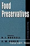 Food preservatives.