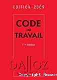 Code du travail. 71ème édition.