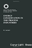 Energy conservation in the process industries.