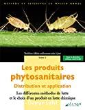 Les produits phytosanitaires