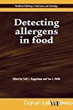 Detecting allergens in food.