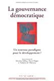 La gouvernance démocratique