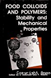 Food colloids and polymers : stability and mechanical properties - Conference (08/04/1992 - 10/04/1992, Lunteren, Pays-Bas).