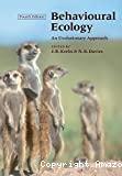 Behavioural ecology. An evolutionnary approach