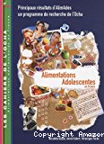 Alimentations adolescentes en France. Principaux résultats d'AlimAdos un programme de recherche de l'Ocha.