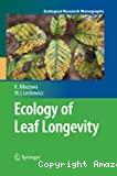 Ecology of leaf longevity.