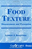 Food texture. Measurement and perception.