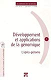 Développement et applications de la génomique