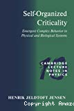 Self-organized criticality. Emergent complex behavior in physical and biological systems.