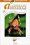 Guide des araignées et des opilions d'Europe