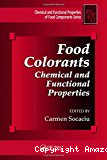 Food colorants. Chemical and functional properties.