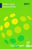 Index ACTA biocontrôle 2017