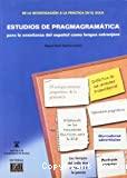 Estudios de pragmagramática para la e/le